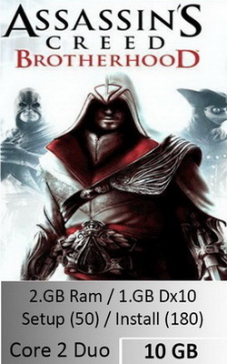 Assassins Creed Brotherhood  [ 10 GB ]